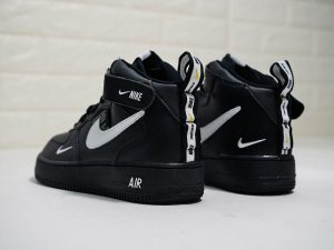 premium selection 07e4a 0e991 Black Nike Air Force 1 Mid 07 L.V.8 Utility Pack