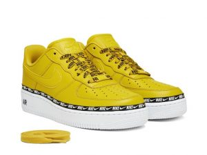 Nike Air Force 1 07 SE Premium Overbranded Yellow